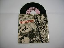 "HELLACOPTERS - LOOKING AT ME - RARE 7"" BLACK VINYL LIKE NEW 1998 U.S.A."