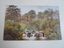 A R QUINTON Postcard 1164 THE GARDENS, BUXTON        §A2309