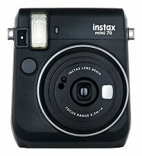 Fujifilm Instax Mini 70 Fuji Instant Film Camera Black