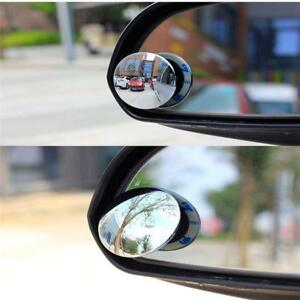 Car Auto Side Wide Angle Small Round Convex Blind Spot Dead Rearview Mirror CP