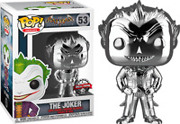 Batman: Arkham Asylum - The Joker Silver Chrome Pop! Vinyl Figure