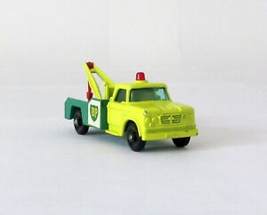 Vintage Lesney Matchbox 13 Dodge Wreck Truck BP Regular Wheel 1965