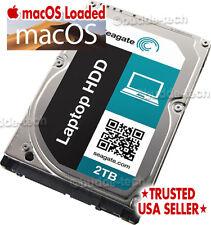 2TB Laptop Hard Drive Upgrade Apple Mac Macbook Pro 2010 2011 2012 10.12 Sierra