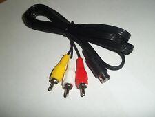 6 ft. Sega Genesis Generation 2 - 3 RCA Cable