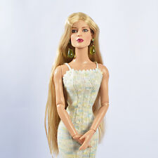 """Shrry Gold  Doll Wig for 16"""" NUMINA Sybarite Tyler Ficon JamieShow 11SW63"""