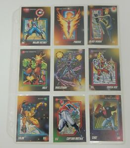 1992 Marvel Impel Trading Card Lot - 74 Cards!!