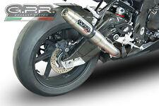 SILENCIEUX GPR DEEPTONE INOX BMW S1000 RR 2015-