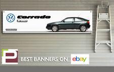 VW Corrado VR6 Bannière pour VOLKSWAGEN garage, atelier, bureau, Man Cave etc