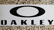 Gran Oakley Decal Sticker 180mm X 70mm para Coche Camioneta O Pared