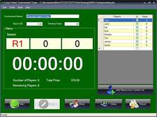 Easy Poker Tournament Timer Software for Windows Free Shipping