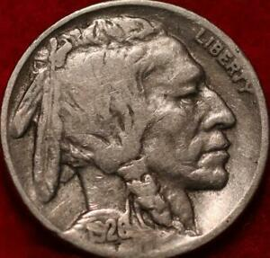 1926-S San Francisco Mint Buffalo Nickel
