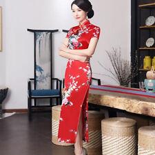 Chinese Traditional Women's Evening Dress Ball Long Cheongsam Qipao Plus Size