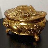 Art Nouveau jewelry casket, trinket box