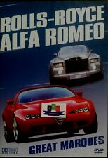 Great Marques: Rolls Royce - Alfa Romeo (Documentary) DVD 2006 New And Sealed