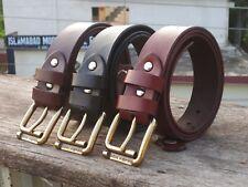 Men Black Belt, Brown Belt, Dark Brown Belt, Leather Belts, Full Grain Genuine