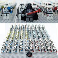 21Pcs Star Wars Minifigures Lot 501st Clone Trooper Lego Compatible Stormtrooper