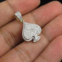 2.20Ct Brilliant Round Cut Diamond Leaf Pendant Necklace 14k Yellow Gold Over