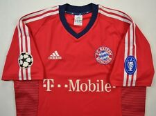 New Adidas Bayer Munich 2002 Home Soccer Jersey XL Champion League-Sold Out