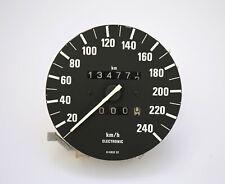 BMW E30 Tacho 240 km/h VDO Kombiinstrument - 134.772 KM - Teilenummer 1377343