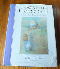 Through the Looking Glass by Lewis Carroll (Hardback, 1996) Ill. by John Tenniel
