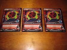 Yu Yu Haksuho TCG Inter Dimensional Breach x3 Rare Cards Dark Tournament 1st Ed