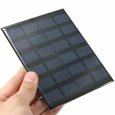 6V 1.5W 250mA DIY Solar Panel Module System For Cells Phone Battery Charger Toy
