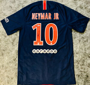 Neymar Jr. Signed Paris Saint-Germain Jersey Beckett LOA
