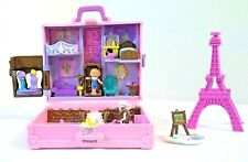 Polly Pocket - POLLY in PARIS BLUEBIRD Co. With Eiffel Tower VINTAGE 1996