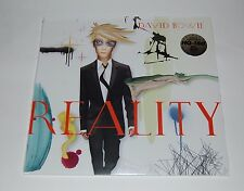 DAVID BOWIE  REALITY -  Limited Edition CLEAR  VINYL LP.