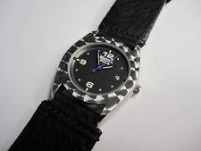 Metropola  F31A-RSS Mustang wristwatch w/ leather strap