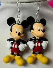 Unique Very Big Mickey Mouse 925 Earrings Disney Handmade Nora Winn