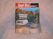 1973 FORD GRAN TORINO THUNDERBIRD GALAXIE TRAILER TOWING SHOP TIPS MAGAZINE 6-73