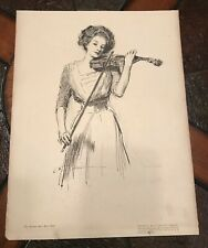 Gibson Girls Artist Proofs #9 No Time For Politics, #11 The Sweetest Story...