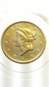 1851 Liberty Gold Dollar, 1851 (1849-1889), Regular Strike