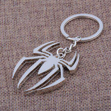 Spiderman Keychain Stainless steel Key Chain Modern Cartoon Super Heroes Toys Gi