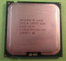 Intel Core 2 Quad Q6600 2.40GHz 8MB 1066 mhz Processor 775 Base SLACR / SL9UM