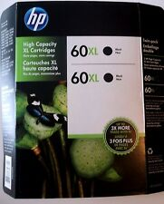 HP 60XL Printer Black Cartridges
