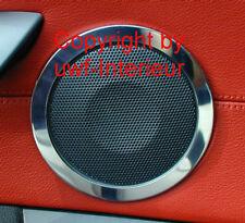(QG) alluminio cromo anelli ALTOPARLANTI 3d BMW z4 110mm sistema clic