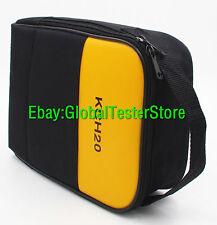 Big size Soft Case/Bag Use For Oscilloscope Multimeter FLUKE 123 124 125