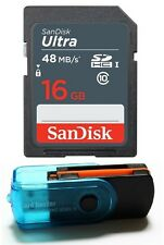 16GB SD HC Class 10 Memory Card FOR NINTENDO 3DS N3DS DS DSI & Wii Media Kit