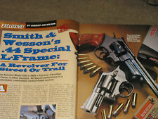 SHOOTING TIMES TEST, S&W 696, KAHR K9,  BROWNING LOW WALL & HIGH WALL RIFLES
