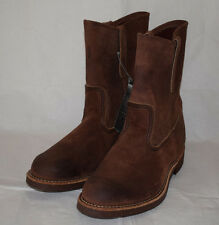 Red Wing Heritage 8189 Pecos Suede Engineer Boots UK7 Cork Sole Redwing ‏‏