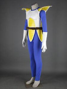 New Exclusive Vegeta Cosplay Costume Full Suit Size XXS-XXXL