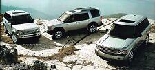 2006 Land Rover FOLLETO/ Catálogo: Range Rover, deporte, LR3, lr-3