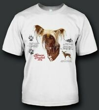 Chinese Crested Dog History New T-Shirts