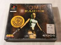 Tomb Raider PS1 PlayStation One 1996 Eidos Interactive [Double Case] (w/ Manual)