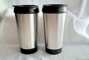 2 - Stainless Hot & Cold Travel Mugs – 12oz - New