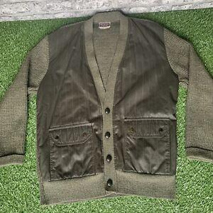 GLENHUSKY Of Scotland Cardigan Jacket Chore Wool Extra Large XL