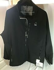 Mens NWT Sierra Designs Bullseye Jacket Black 4XL Winter Ski Coat