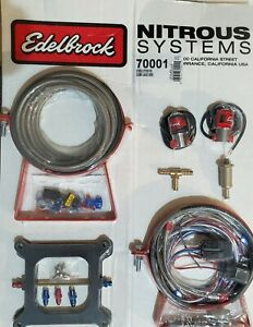 Nitrous Oxide Injection System Kit-Performer Edelbrock 70001
